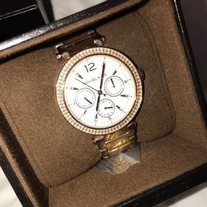 Michael Kors watch - never worn, comes with box